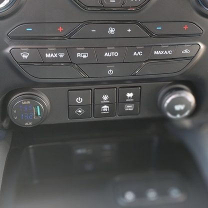 Ford Ranger Switchfascia with custom switches