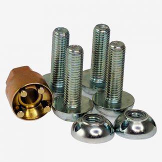 ANTI-THEFT SECURITY NUTS - VENOM LED/GENESIS LED/STRIKER LED/HTX2
